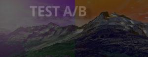 Testing AB entreprise web